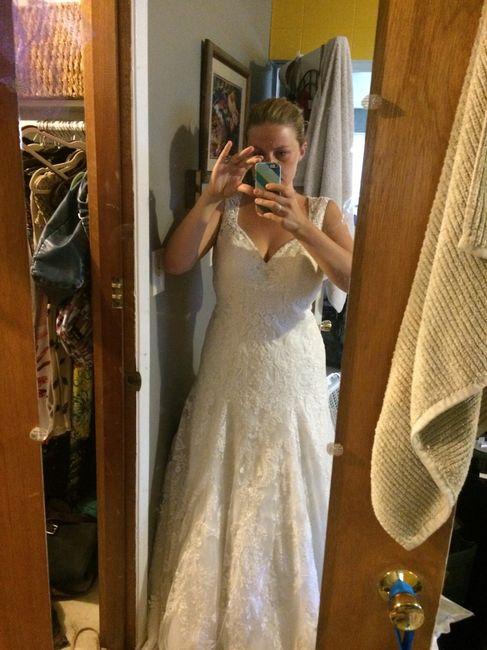Help Dress Is Too Big Wedding Is In 9 Days Weddings Wedding
