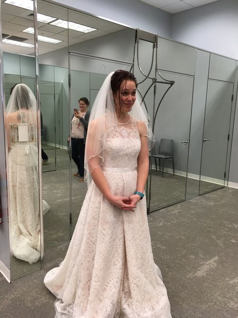 i found my dress!!!! i would love to see pictures of everyone else's!!! 5