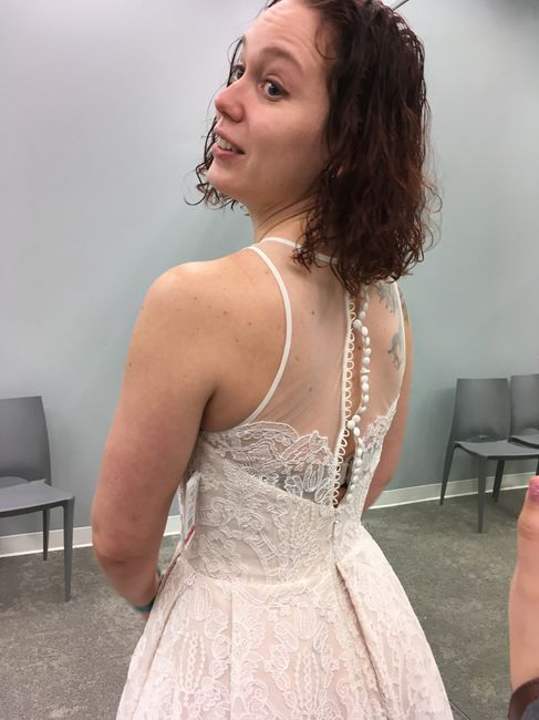 Tattooed brides in long sleeves - 1