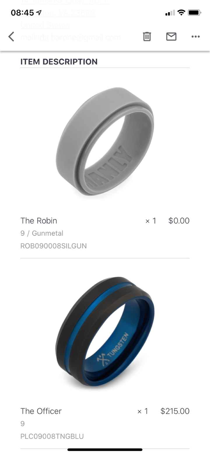 What Wedding Rings Have You Chosen?? - 1