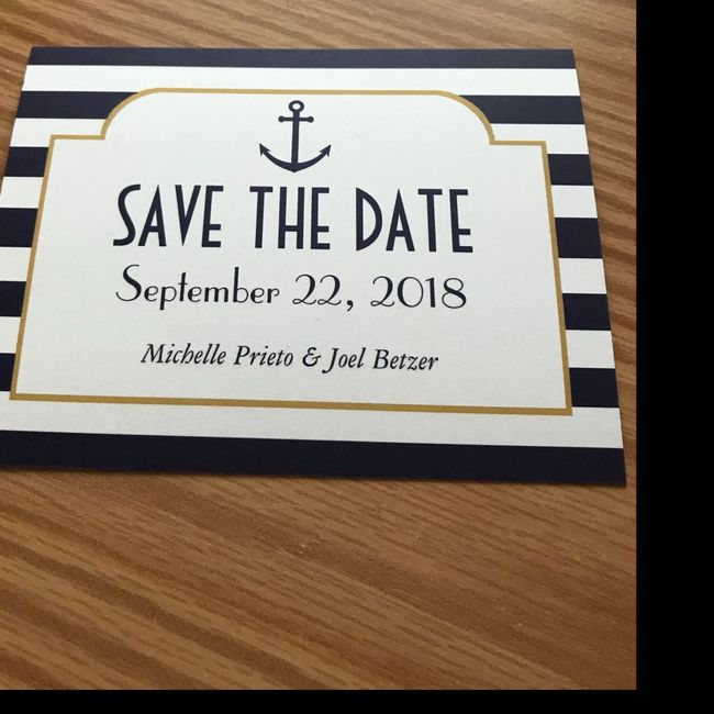 Save the dates - picture or no picture? 6