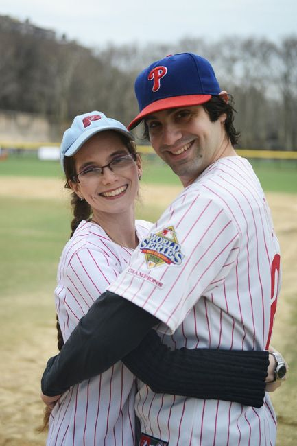 Baseball Engagement Pictures 2