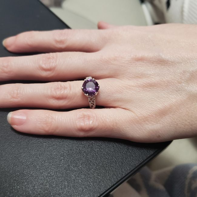 Engagement Rings with colored gemstones 6