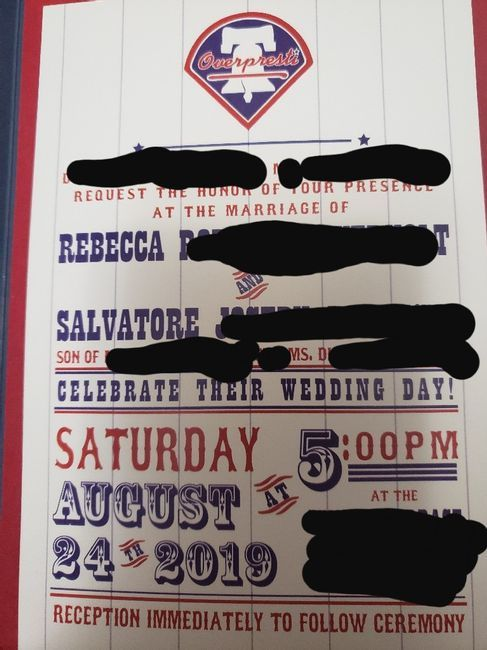 Let's See Your Invitations! 16