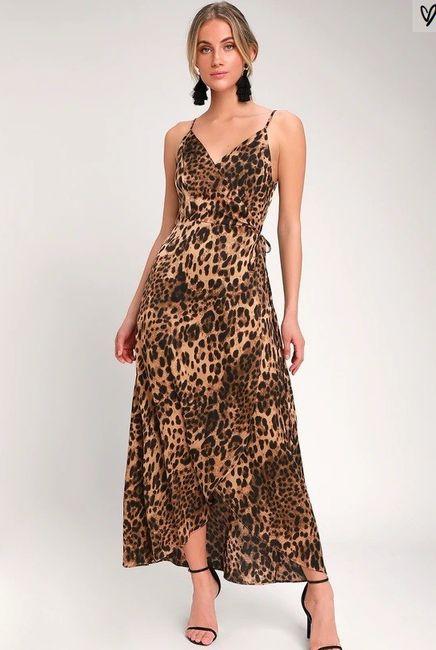 Leopard Print at a wedding? 1