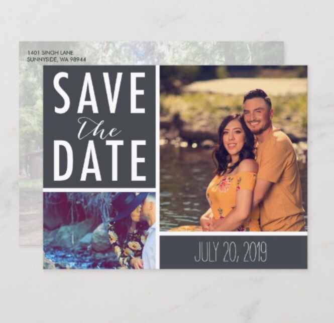 Save the date postcards or cards - 1