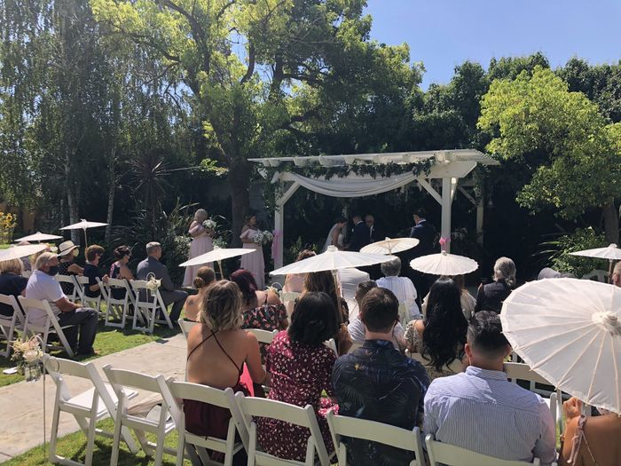 outdoor wedding nerves - 1