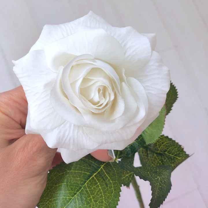 Looking for feedback on diy flowers - 1