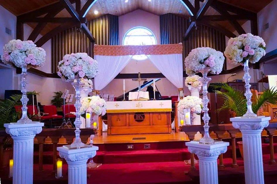 Dreamy altar