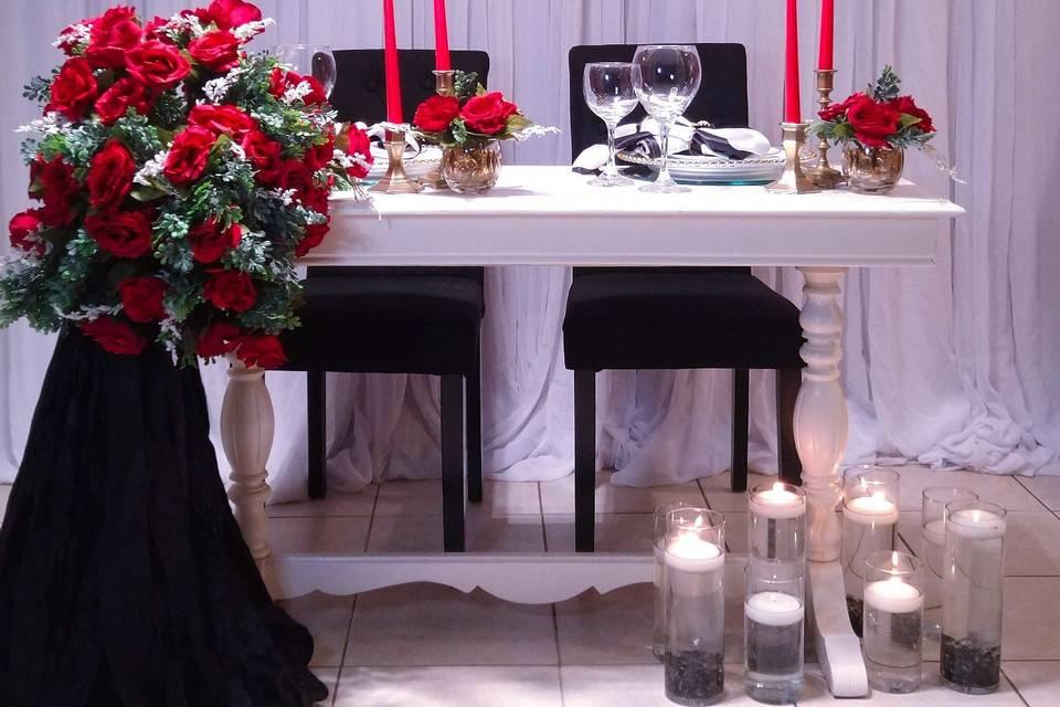 Intimate dinner