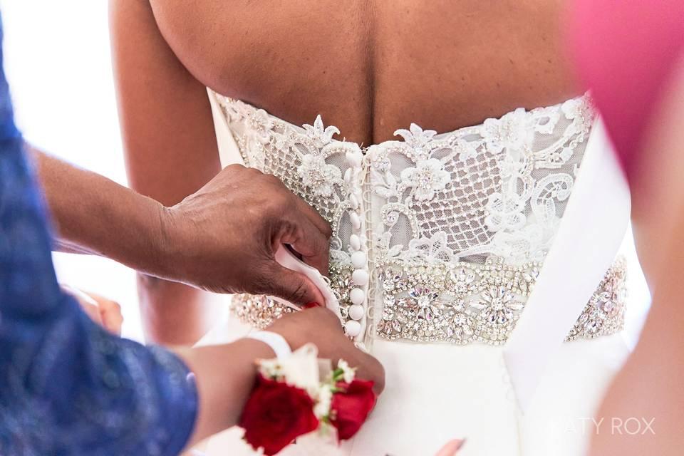 Help me with my dress