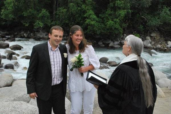 Hatcher Pass Wedding July 2009
