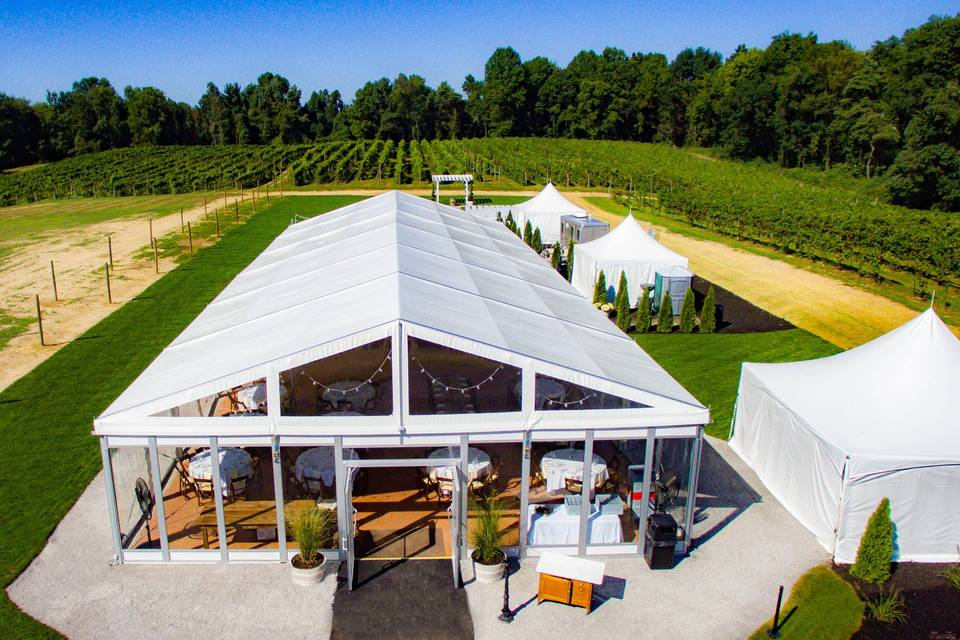 Estate Tent - Great view