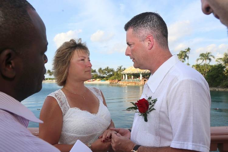 Bahamas Wedding Ceremony