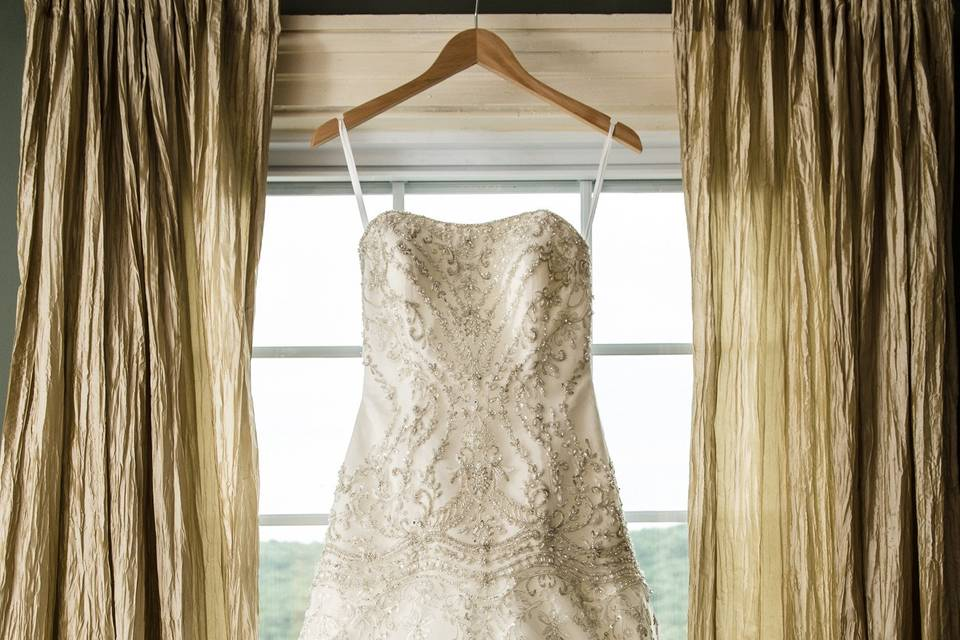 The dress - Allan E. Levine Photography