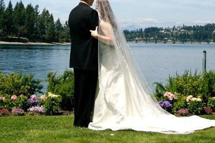 A most romantic wedding spot.