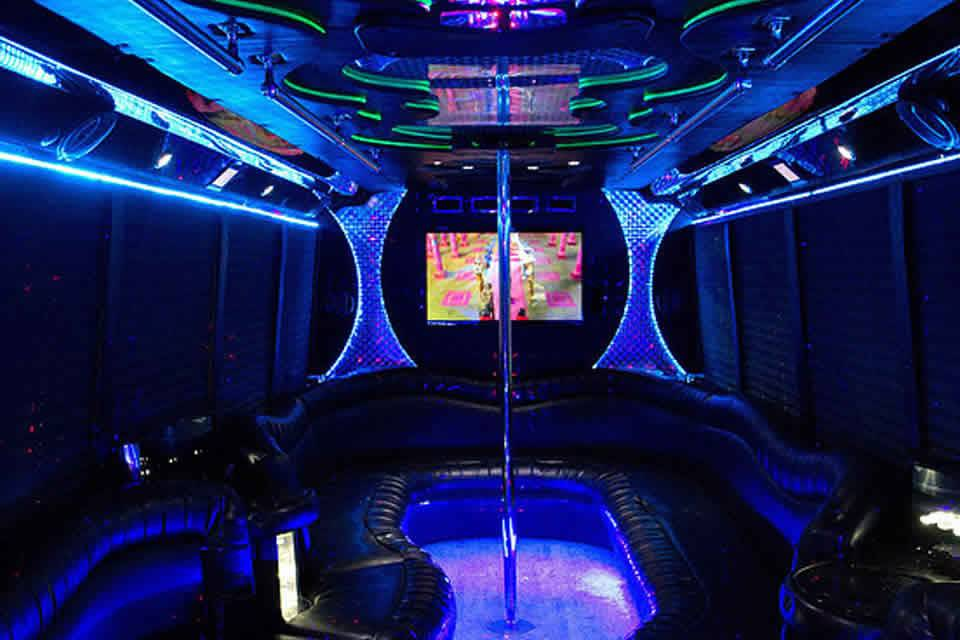 22-passenger interior