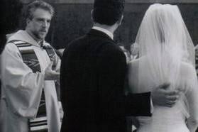 Wedding on campus