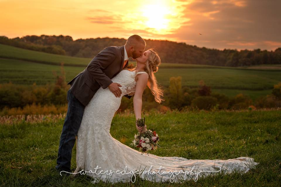 Sunset photo session - Waters Edge Photography