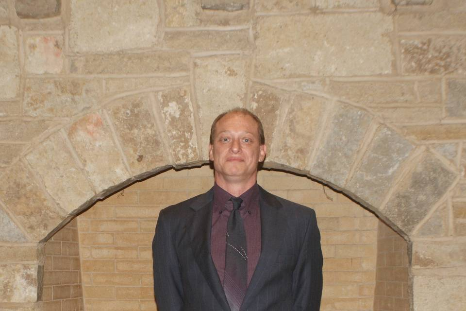 Our officiant