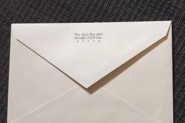 Other side of mail