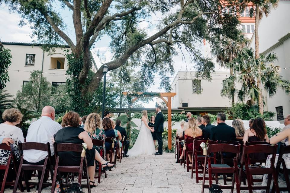 Ceremony in St. Augustine
