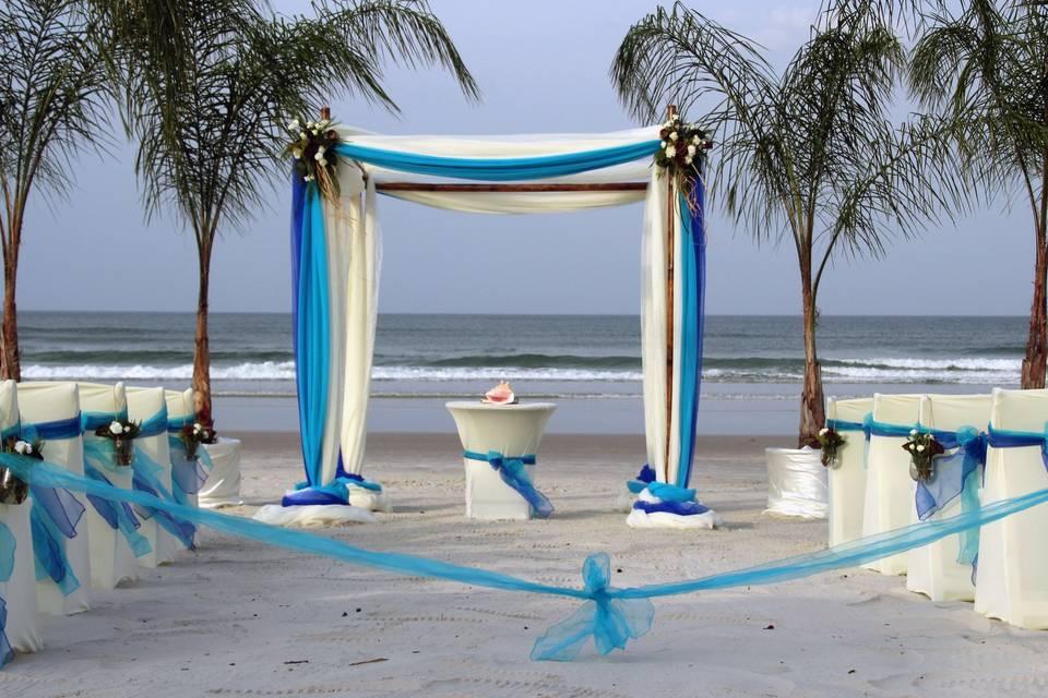 Affordable Beach Wedding