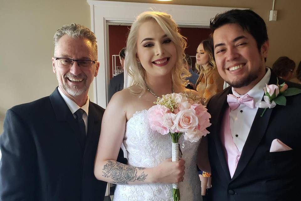 Congrats to Jessica and Aaron!
