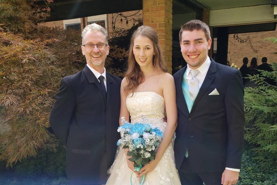 Congrats to Bre and Ryan!