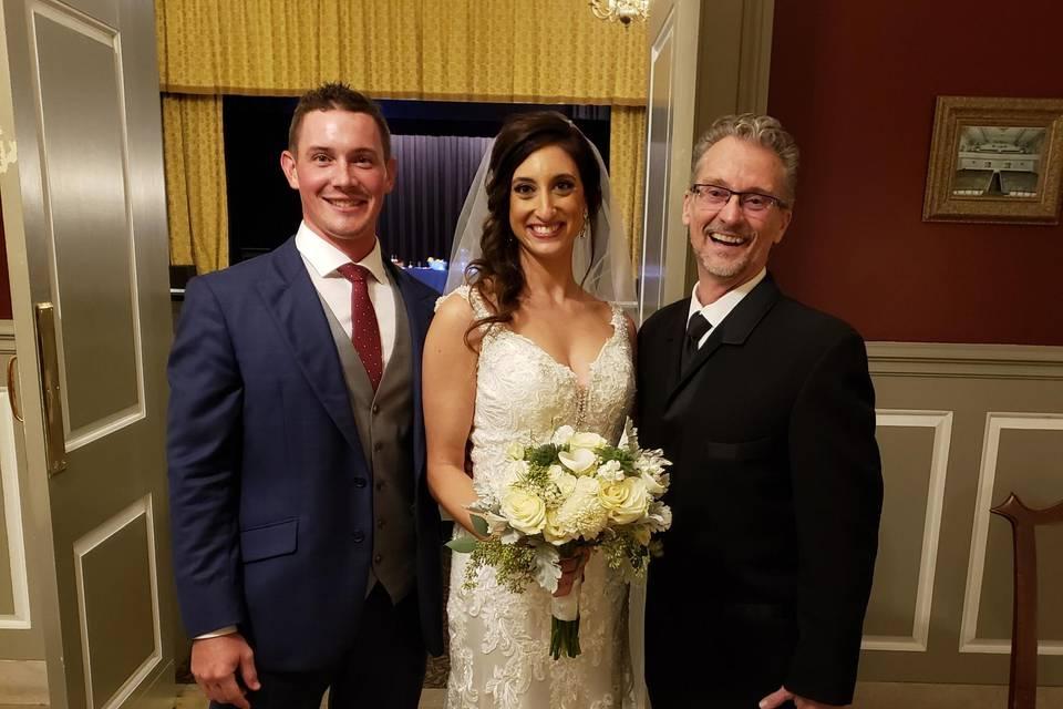 Congrats Marissa and Kevin!
