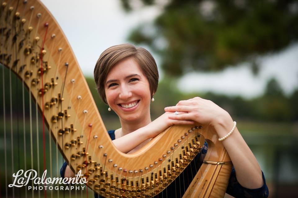 Susanna Campbell, Harpist