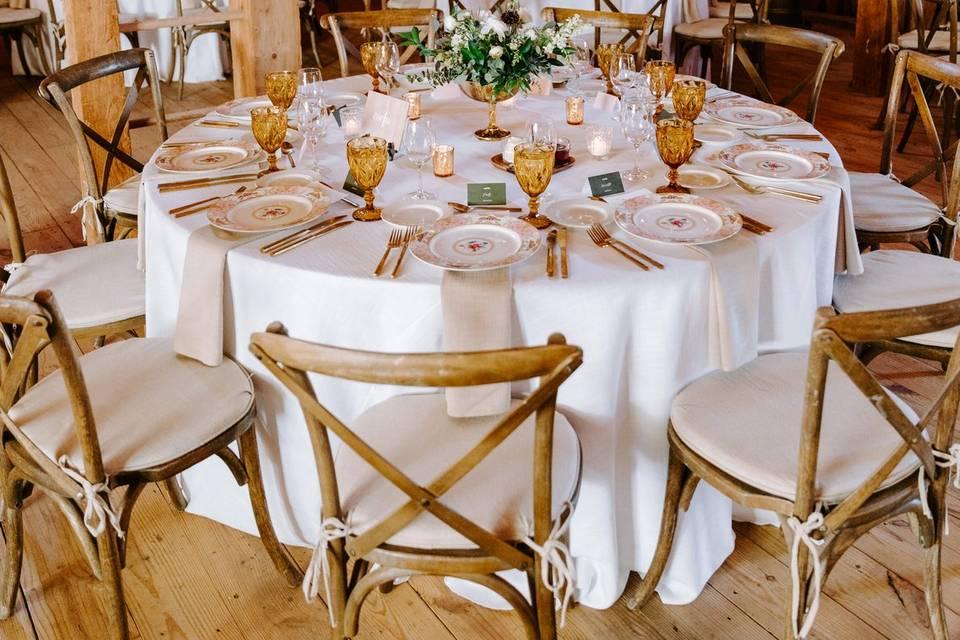 Personalized Wedding Reception