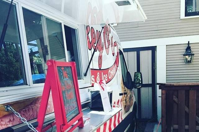Food truck setup