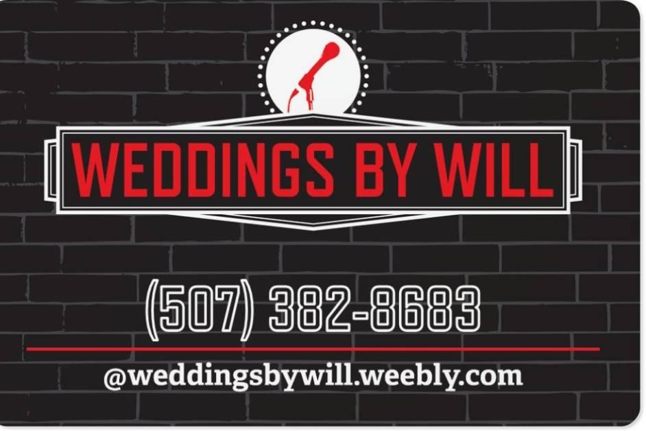 Wedding DJs - Weddings By Will