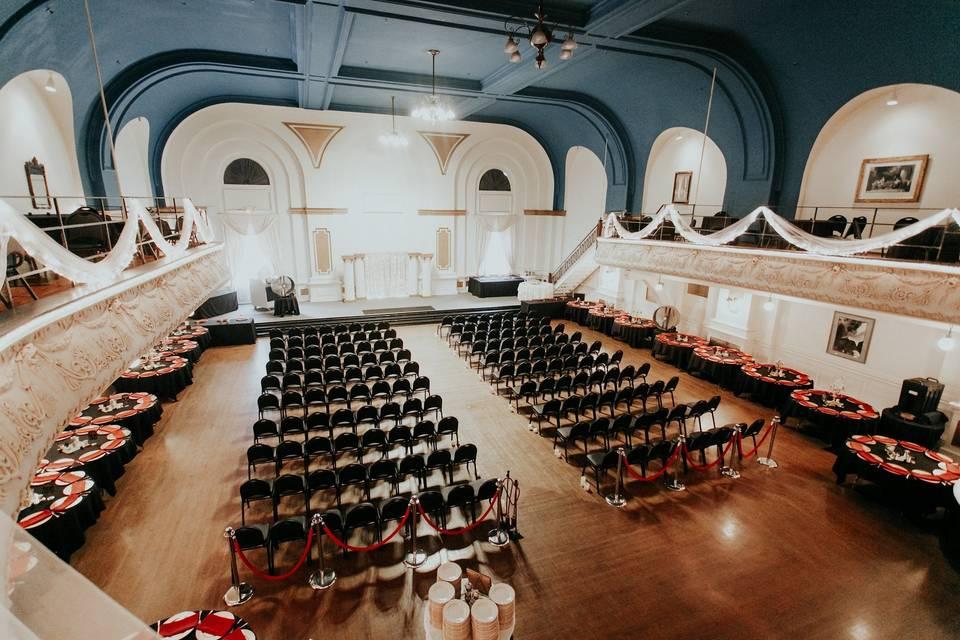 The Adrianna Hill Grand Ballroom