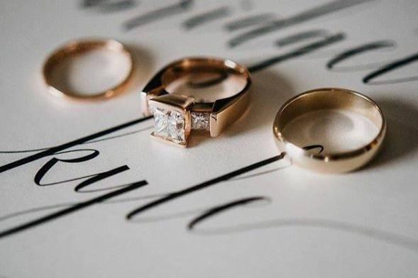 Wedding rings ready