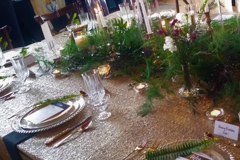 Tableware & Greenery