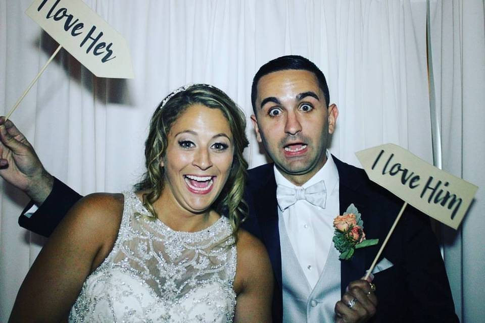 Bride and Groom _ Photobooth