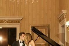 Couple by the piano