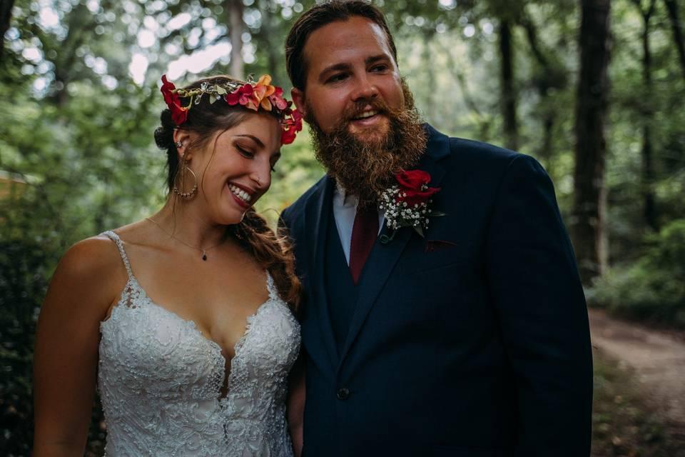 Boho newlyweds