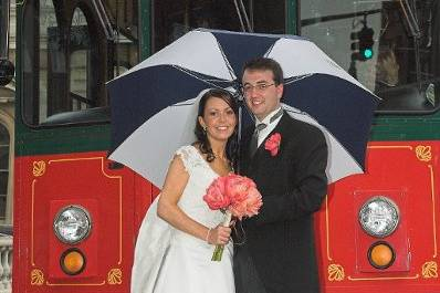 Troy was a true pleasure to work with – friendly, accommodating, knowledgeable, reliable, and all around great at what he does. My husband and I highly recommend him to anyone looking for a DJ in the Baltimore area.Sincerely,Katie and William Bissett