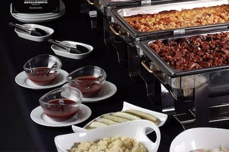 Zarda buffet spread