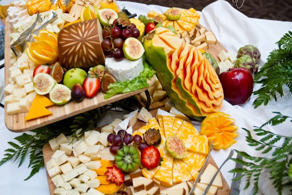 Cheese board presentation