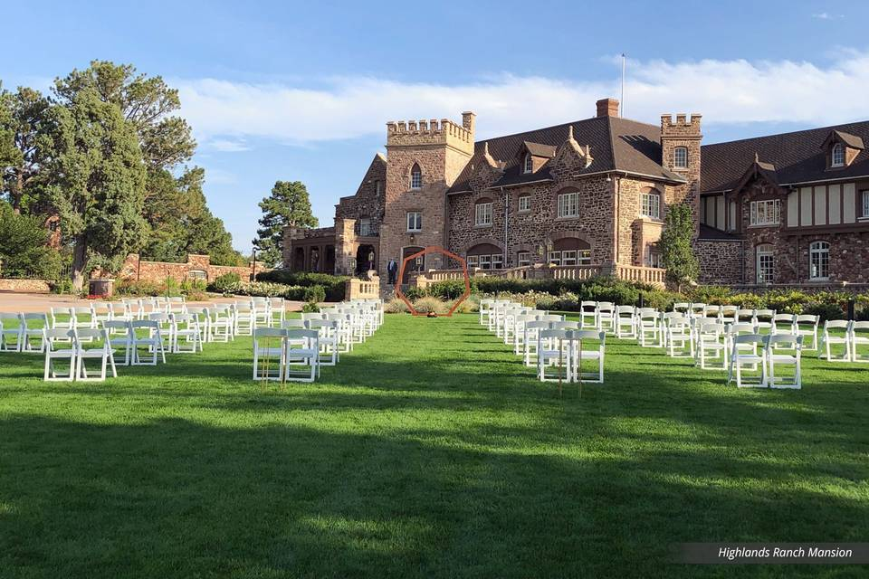 Front Lawn Ceremony