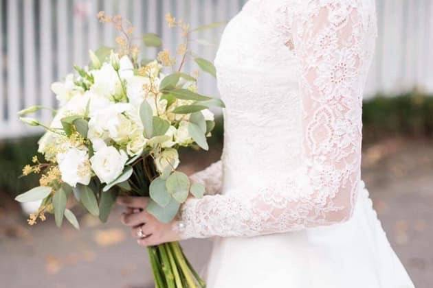 A radiant bride