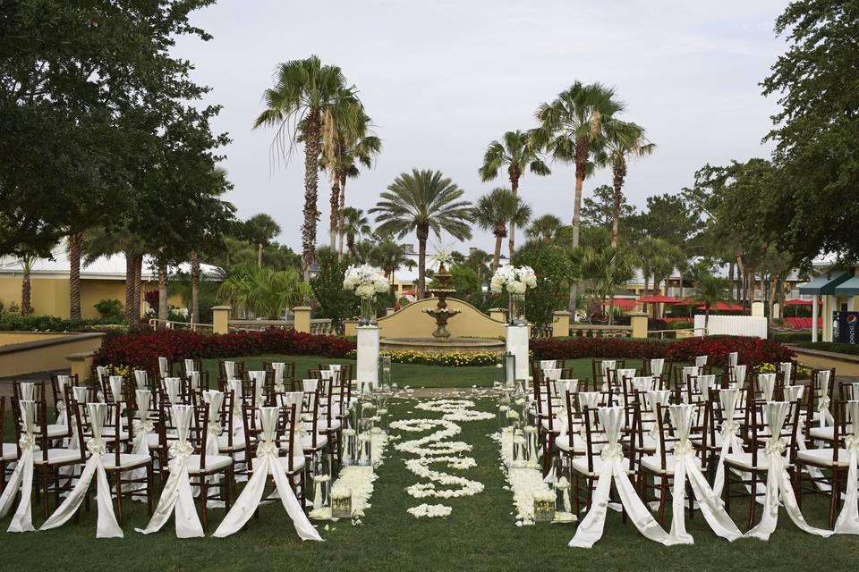 Grand Lawn Ceremony