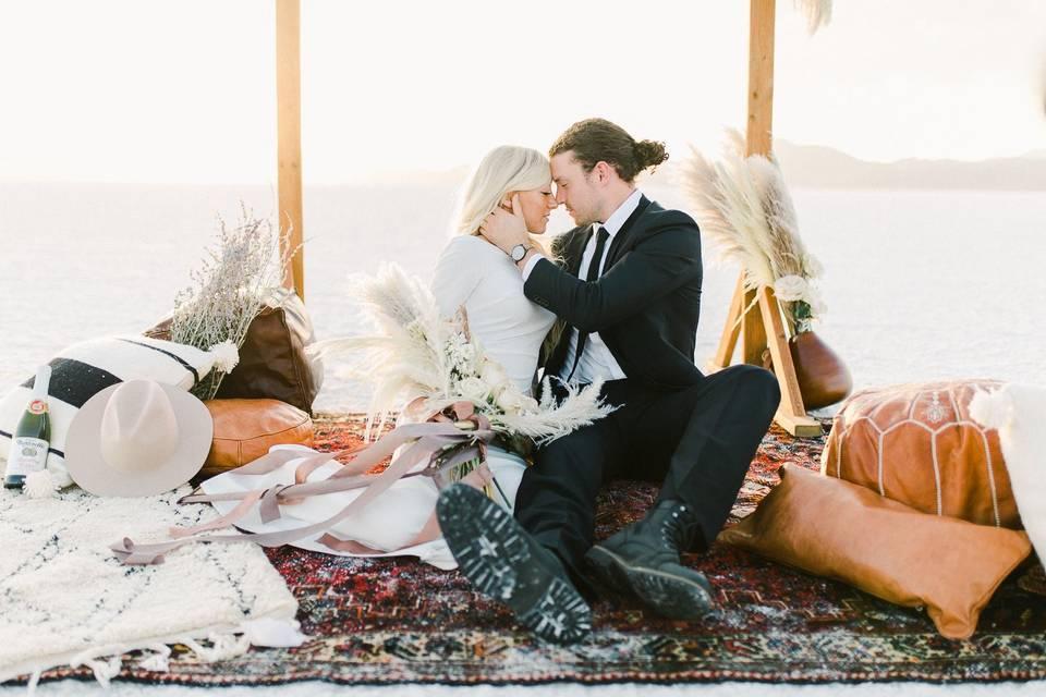Bridals at Salt Flats