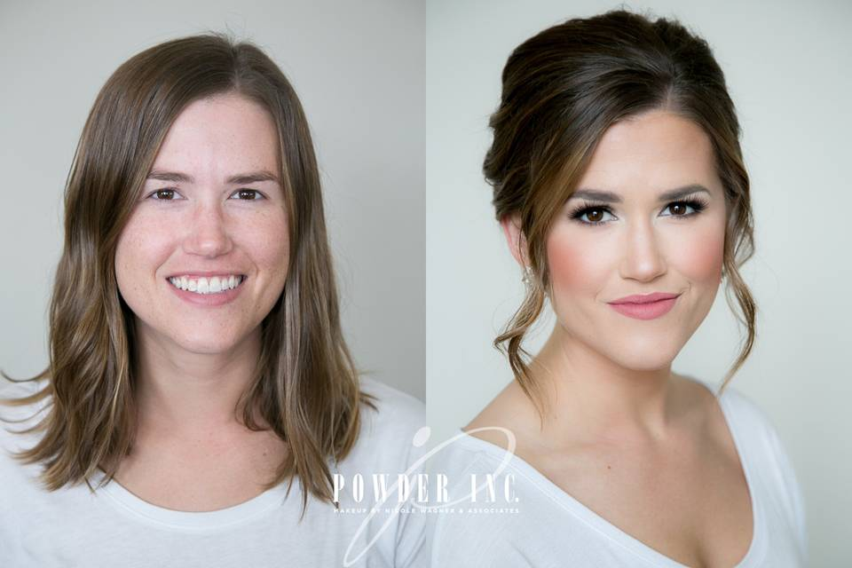 Powder Inc. Makeup by Nicole Wagner