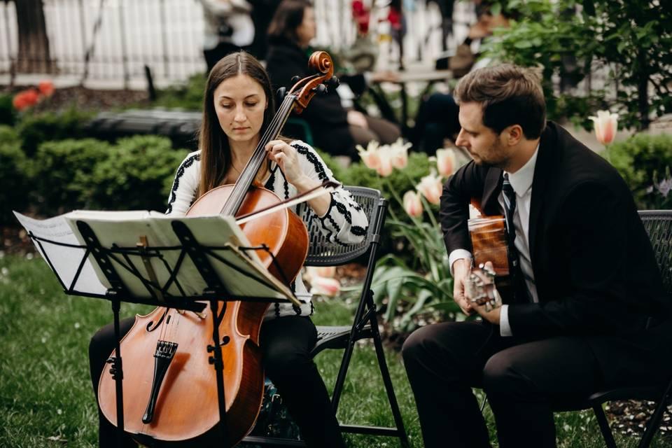 Cello & Guitar Duet