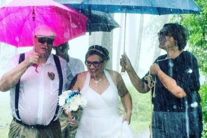 Love come rain or shine